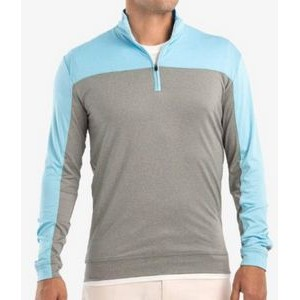 "Johnnie-O Men's ""Carve"" Light Weight Quarter-Zip Pullover"
