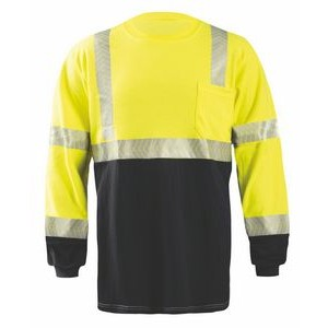 Flame Resistant Dual Certified Long Sleeve T-Shirt w/OCX™ Segmented