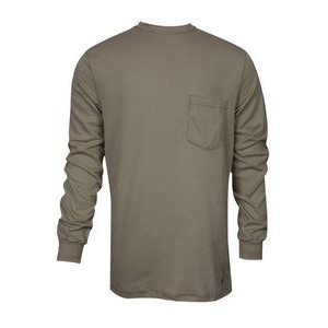 National Safety Apparel® Men's FR Classic Cotton Knit Long Sleeve T-Shirt